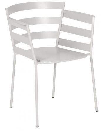 כסא אוכל לגינה Rythmic אפור