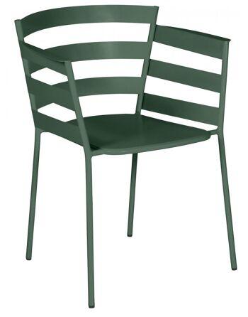 כסא אוכל לגינה Rythmic ירוק