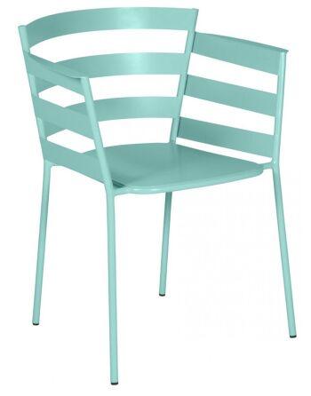 כסא אוכל לגינה Rythmic תכלת