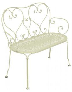 כסא זוגי לגינה 1900 שמנת