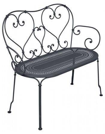 כסא זוגי לגינה 1900 כחול