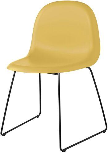 כסא פינת אוכל Rainy צהוב