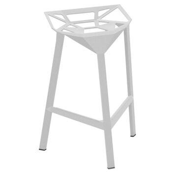 כסא בר One לבן