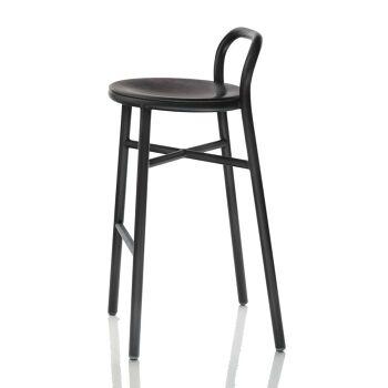 כסא בר Pipe שחור