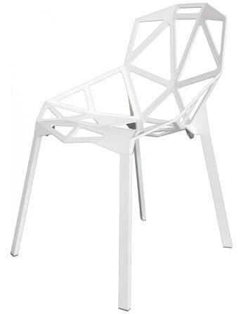 כסא One לבן