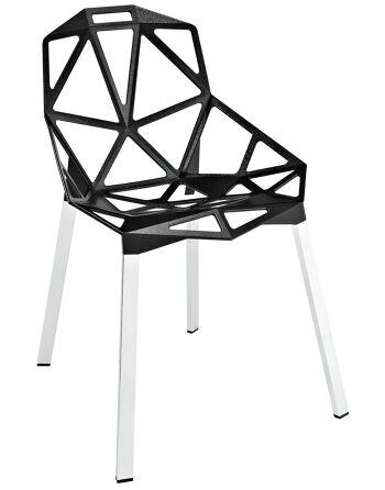 כסא One מושב שחור