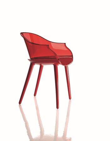 כסא Cyborg אדום