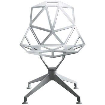כסא One רגל מרכזית אלומניום