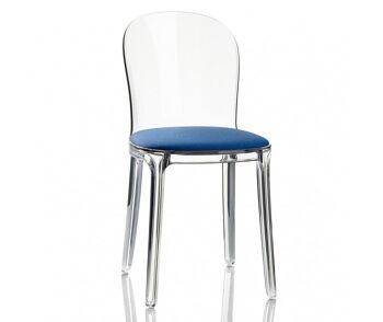 כסא vanity כחול