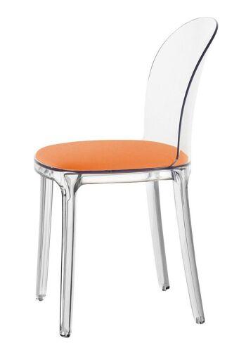 כסא vanity כתום