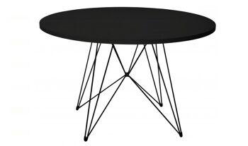 שולחן עגול XZ 3 שחור