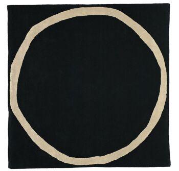 שטיח מרובע AROS שחור