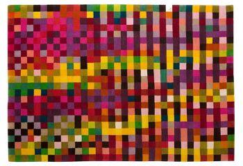 שטיח פיקסלים צבעוני DIGIT 1