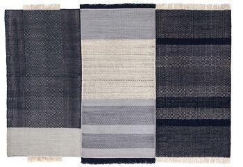 שטיח גאומטרי TRES BLACK