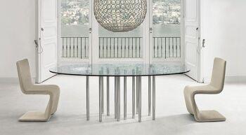 שולחן אוכל אלפטי – מרבה רגליים