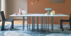 שולחן אוכל מלבני / ריבועי – MILLE שיש קלקטה