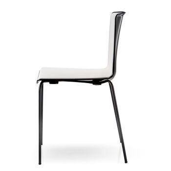 כסא אוכל לגינה בצבע שחור