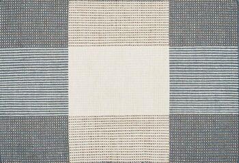 שטיח משבצות אפור כחלחל