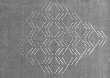 שטיח פטרן אפור