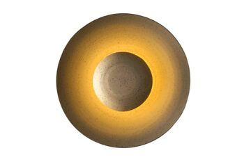 """מנורת קיר מקרמיקה """"ליקוי חמה קיר"""""""