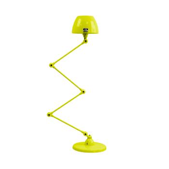 תאורת עמידה דקורטיבית בצבע צהוב