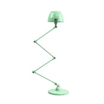 תאורת עמידה דקורטיבית בצבע ירוק