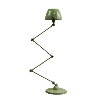 תאורת עמידה דקורטיבית בצבע ירוק חאקי