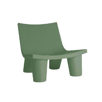 כורסת ליטא בצבע בעיצובה של פאולה נבונה בצבע ירוק