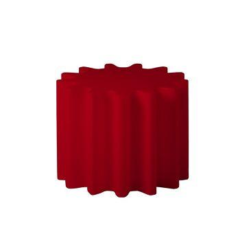 כלי רב תכליתי, שולחן צד או עציץ גינה אדום