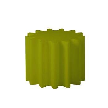 כלי רב תכליתי, שולחן צד או עציץ גינה בצבע ירוק