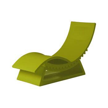מיטת שיזוף טיק-טק בצבע ירוק