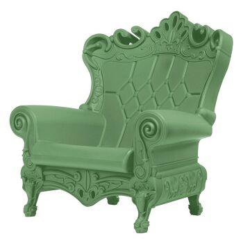 כורסת מלכים בצבע ירוק