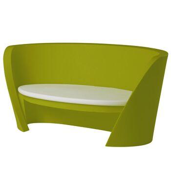 ספת גן בעיצוב קארים ראשיד, בצבע ירוק