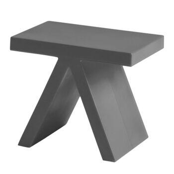 שולחן צד בצבע אפור