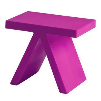 שולחן צד בצבע ורוד