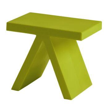 שולחן צד בצבע ירוק