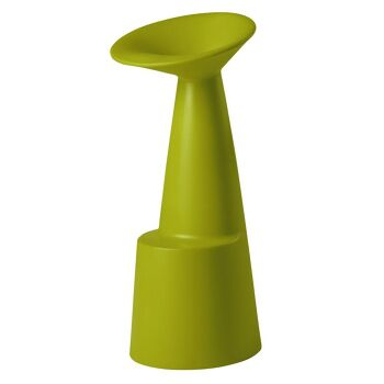 כסא בר מינימלסטי בצבע ירוק