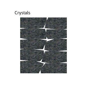 שטיח לבד בגון אפור Crystals