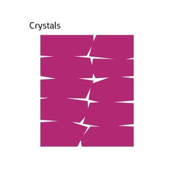 שטיח לבד בצבע מג'נטה Crystals