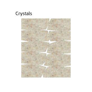 שטיח לבד בגוון בז' Crystals