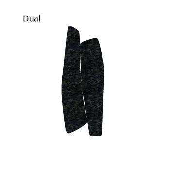 שטיח לבד בצבע שחור Dual