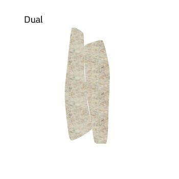 שטיח לבד בצבע בז' Dual