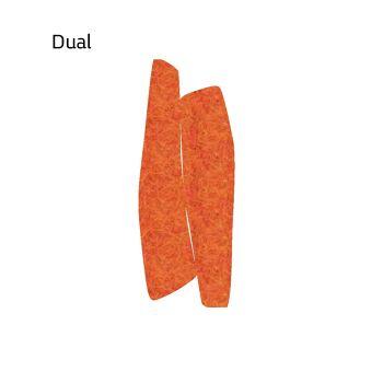 שטיח לבד בצבע כתום Dual