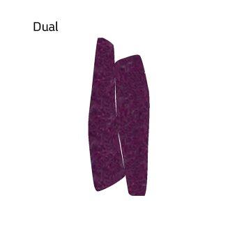 שטיח לבד בצבע סגול Dual