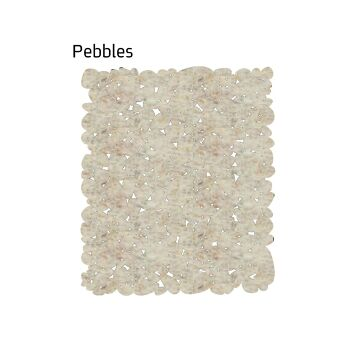 שטיח לבד Pebbles בצבע בז'