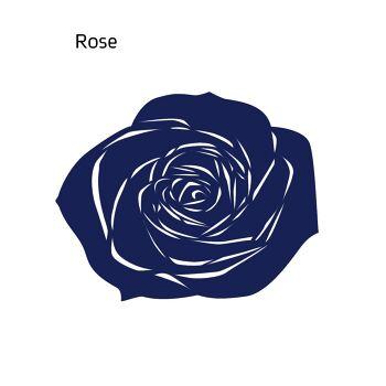 שטיח לבד ROSE בצבע כחול