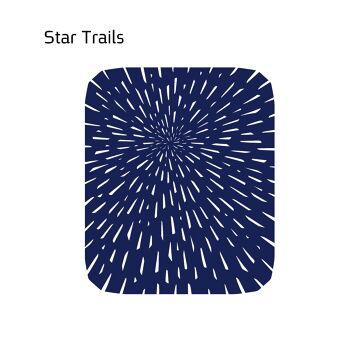 שטיח לבד STAR בצבע כחול