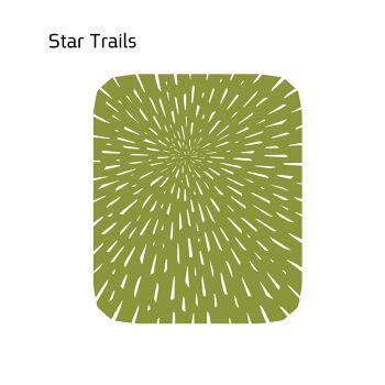 שטיח לבד STAR בצבע ירוק