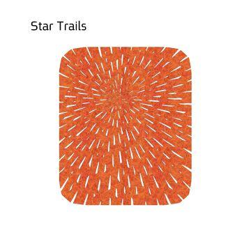 שטיח לבד STAR בצבע כתום