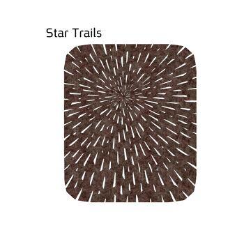 שטיח לבד STAR בצבע חום